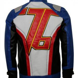76 Mens Faux Leather Jacket