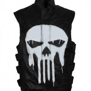 Punisher-Black-Leather-Jacket
