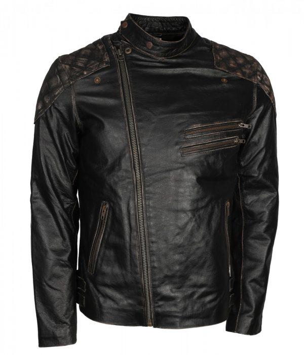 Skull-Embossed-Mens-Motorcycle-Leather-Jacket
